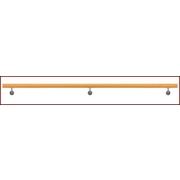Nerezové zábradlí - Madlo Buk, D42/L3000mm