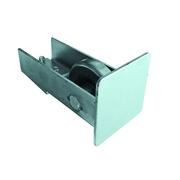 Kolečko dojezdové Zn, profile 70x70, L145mm