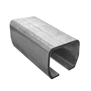 Vodící profil, C profil Zn, 70x60x3,5mm, L 3m