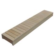 Lavice do sauny - osika - 60x160 cm