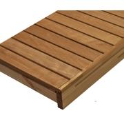 Lavice do sauny - termoolše - 40x210 cm