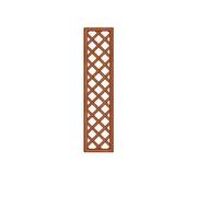 Mříž Pergola 41x180 cm plátovaná