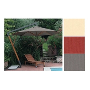 Slunečník Torino Braccio kruhový přírodní barva