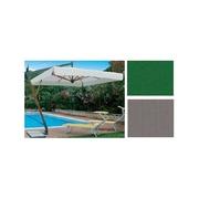 Slunečník Torino Braccio čtvercový šedá barva