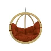 Velké závěsné křeslo - Globo chair terracotta