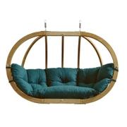 Velké závěsné křeslo - Globo royal chair green weatherproof