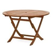 Zahradní stůl o průměru 120 cm