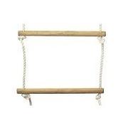 Dřevěné stupně na provazový žebřík