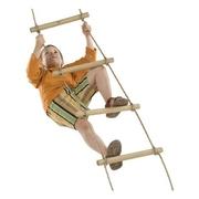 Provazový žebřík komplet s 5-ti dřevěnými stupni