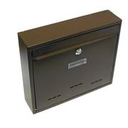 G21 Schránka poštovní RADIM velká 310x360x90mm hnědá